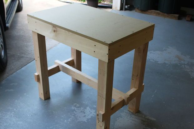 Collapsible Workbench With Images Small Workbench Diy