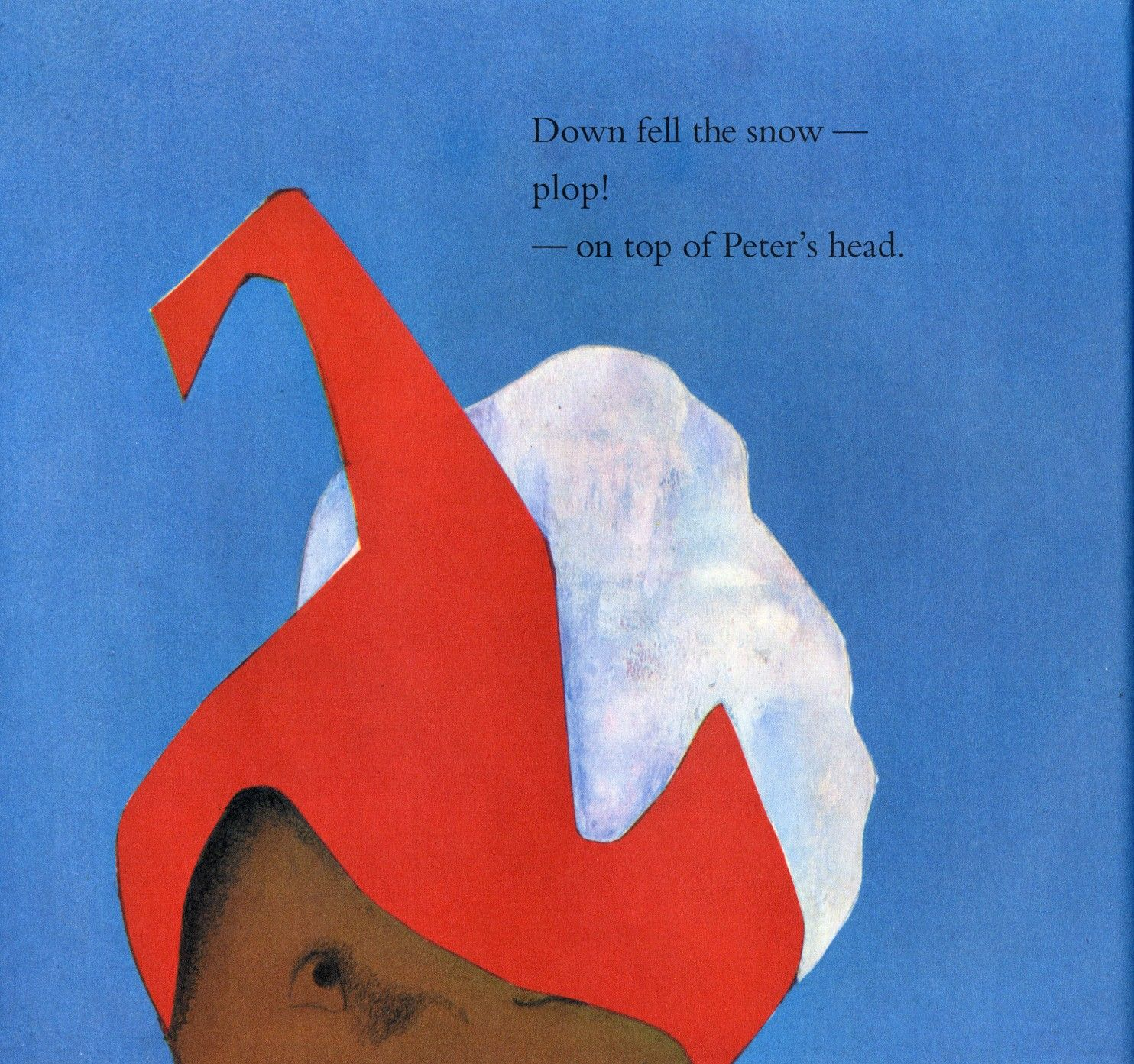 The Snowy Day First Picture Book With Black Child As