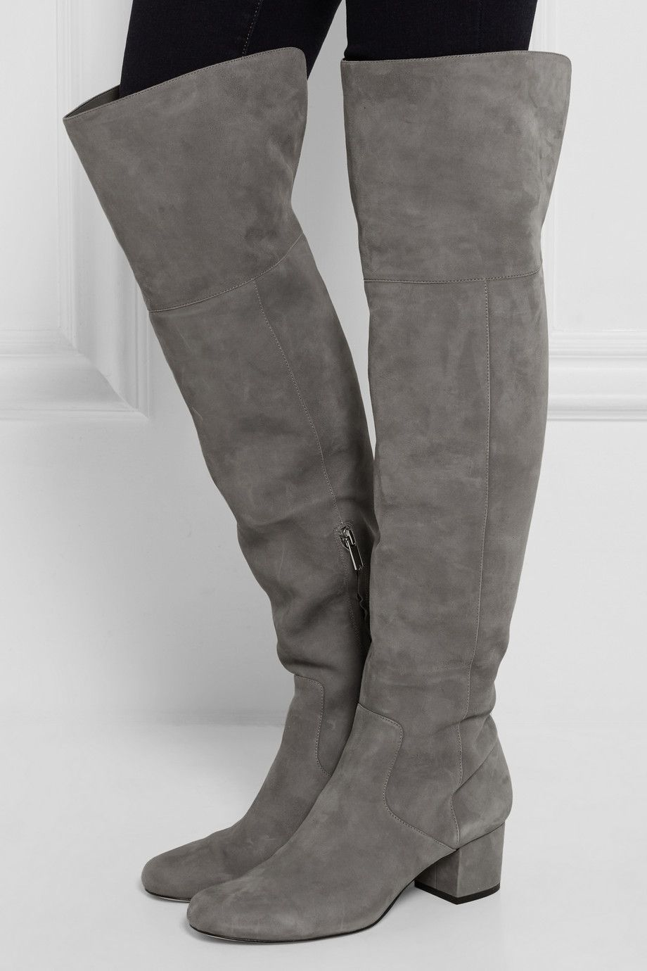 d0997a9361cf Sam Edelman - Elina suede over-the-knee boots