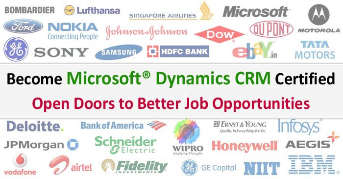 Microsoft Dynamics CRM Certification Training: Choose the Best ...