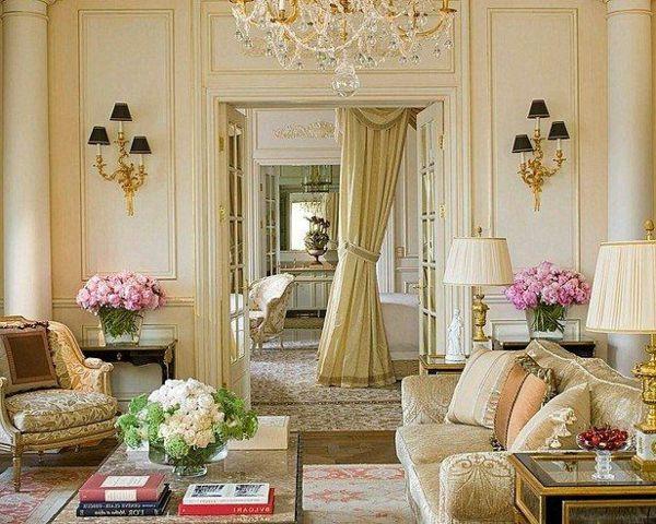 Ideen für attraktive französische Wohnzimmer Designs - http ...