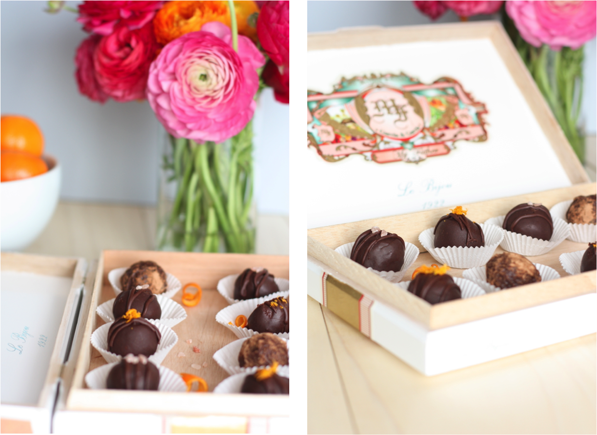 These truffles look so gorgeous that I may have trouble eating one! Luckily, they look even more delicious :)