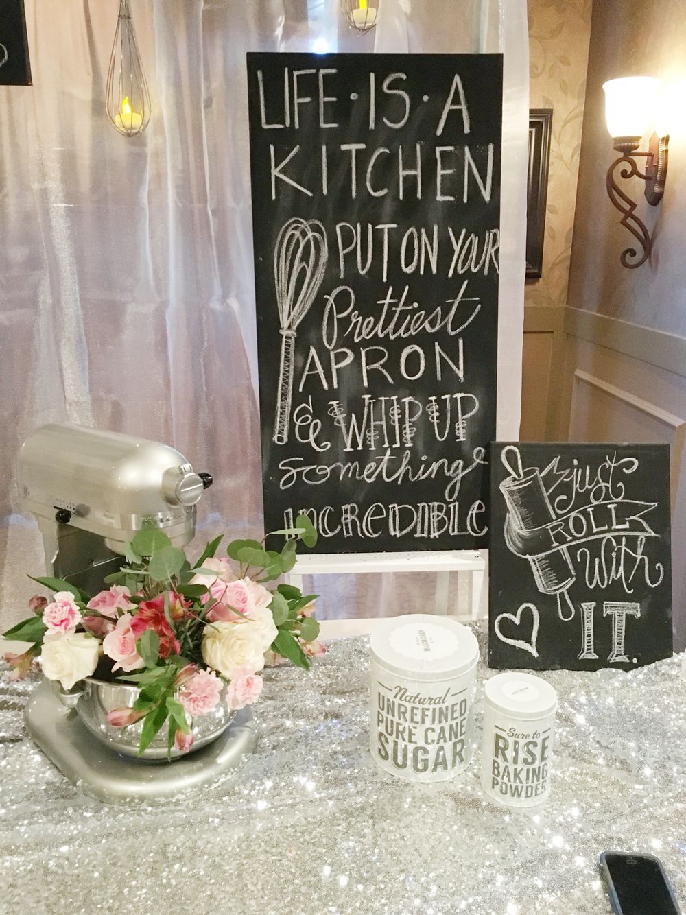 cooking theme bridal shower