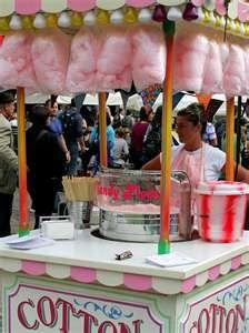 luluzinha kids ❤ parque de diversões - Carnival cotton candy