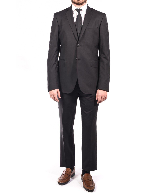 10d20605 PIERRE BALMAIN Pierre Balmain Wool Two Button Suit Charcoal Black'. # pierrebalmain #cloth #suits