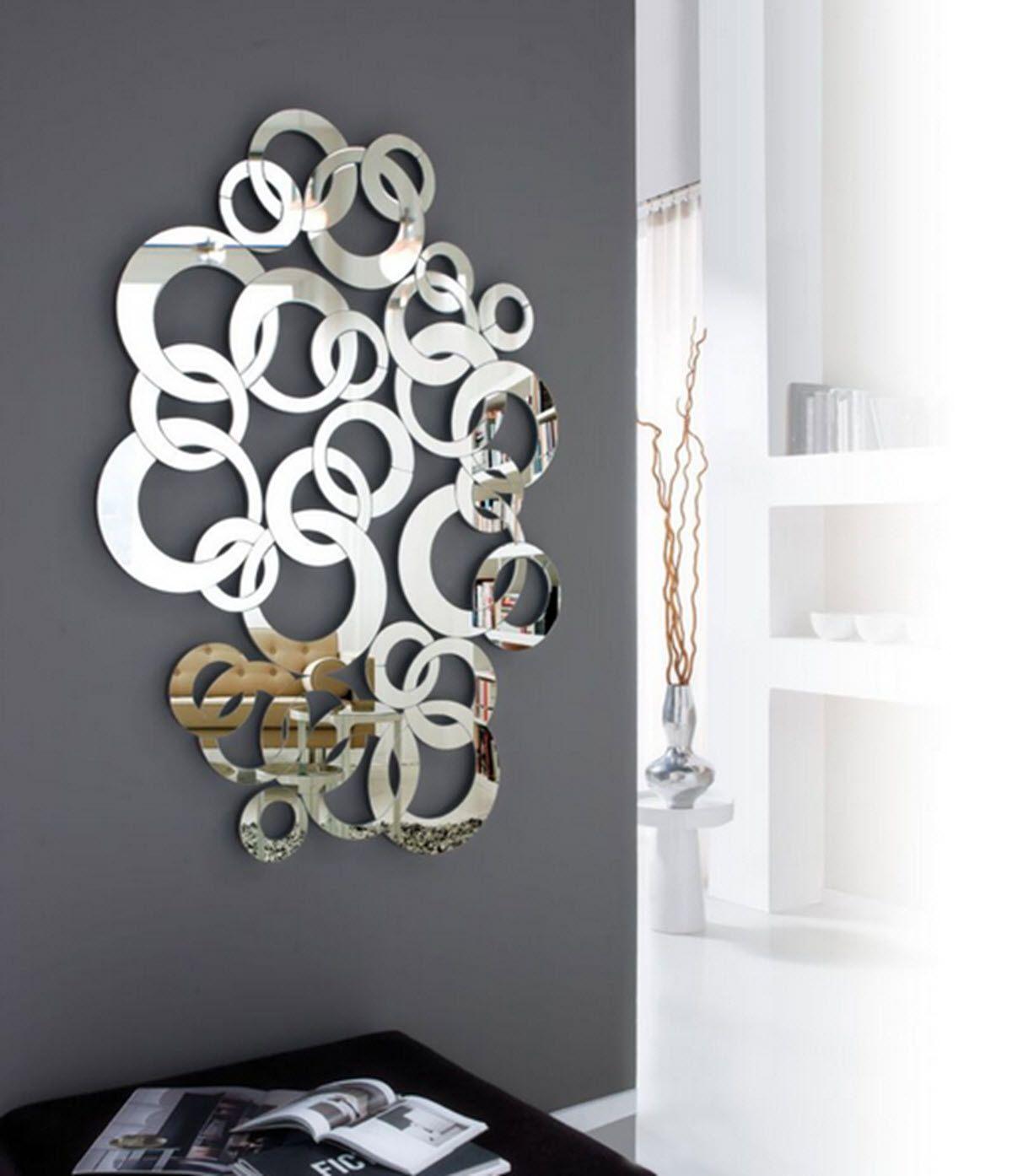 Espejos decorativos wall wording art espejos - Espejos modernos ...