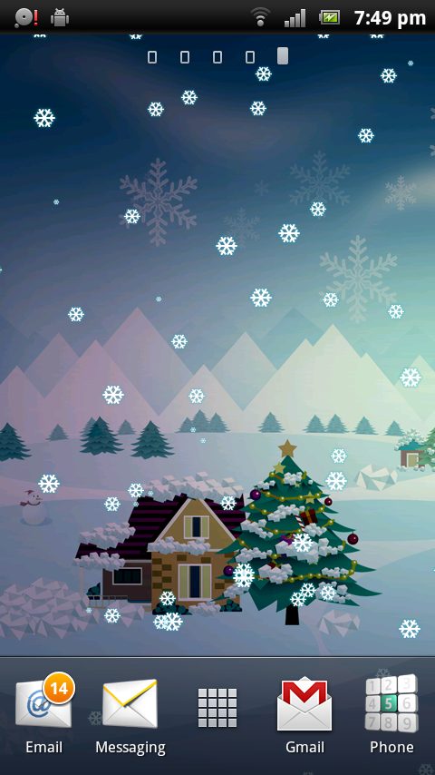 LIVE WALLPAPER CHRISTMAS CHRISTMAS LIVE WALLPAPER MERRY