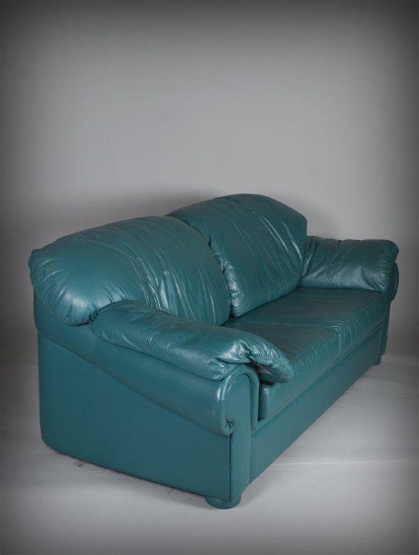 12 Astonishing Turquoise Leather Couch Image Ideas