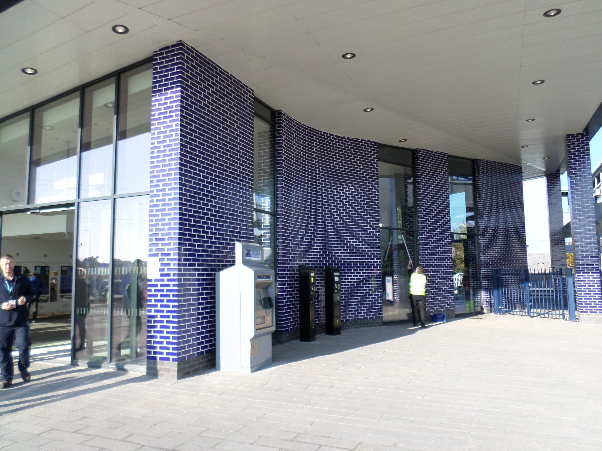Oxford Parkway And Bicester Village Railway Station External Wall