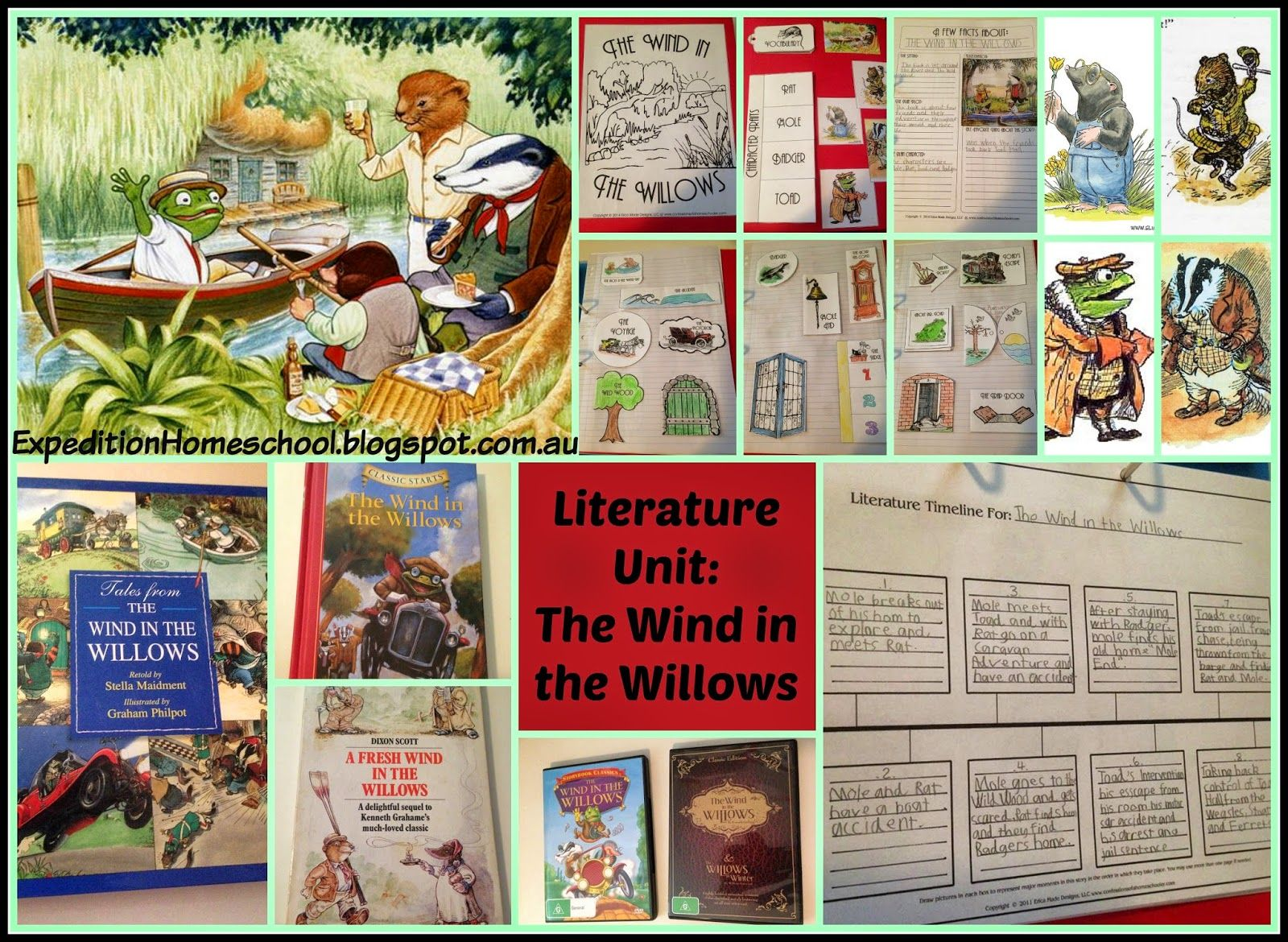 Expedition homeschool review the wind in the willows