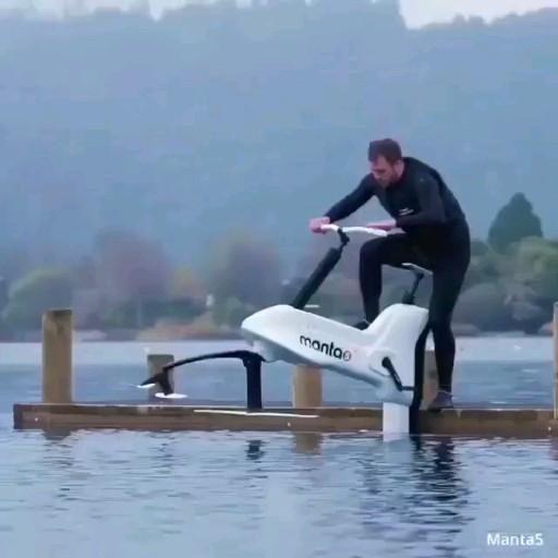 HydroFoil E-Bike 😍😍