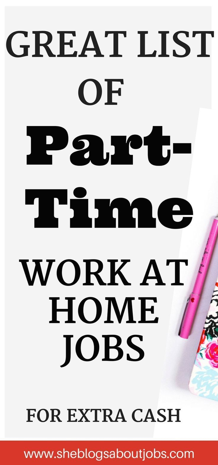 13 part time jobs at home you must check out pinterest extra money