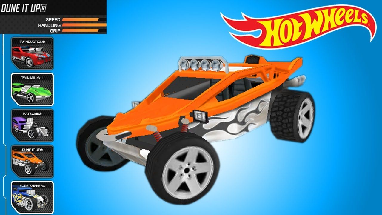 Hot Wheels Racing Championship Track Builder Dune It Up Super Car