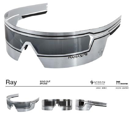d5d75ebee3 Parasite: lunette de soleil futuriste in 2019   EYEWEAR   Glasses ...