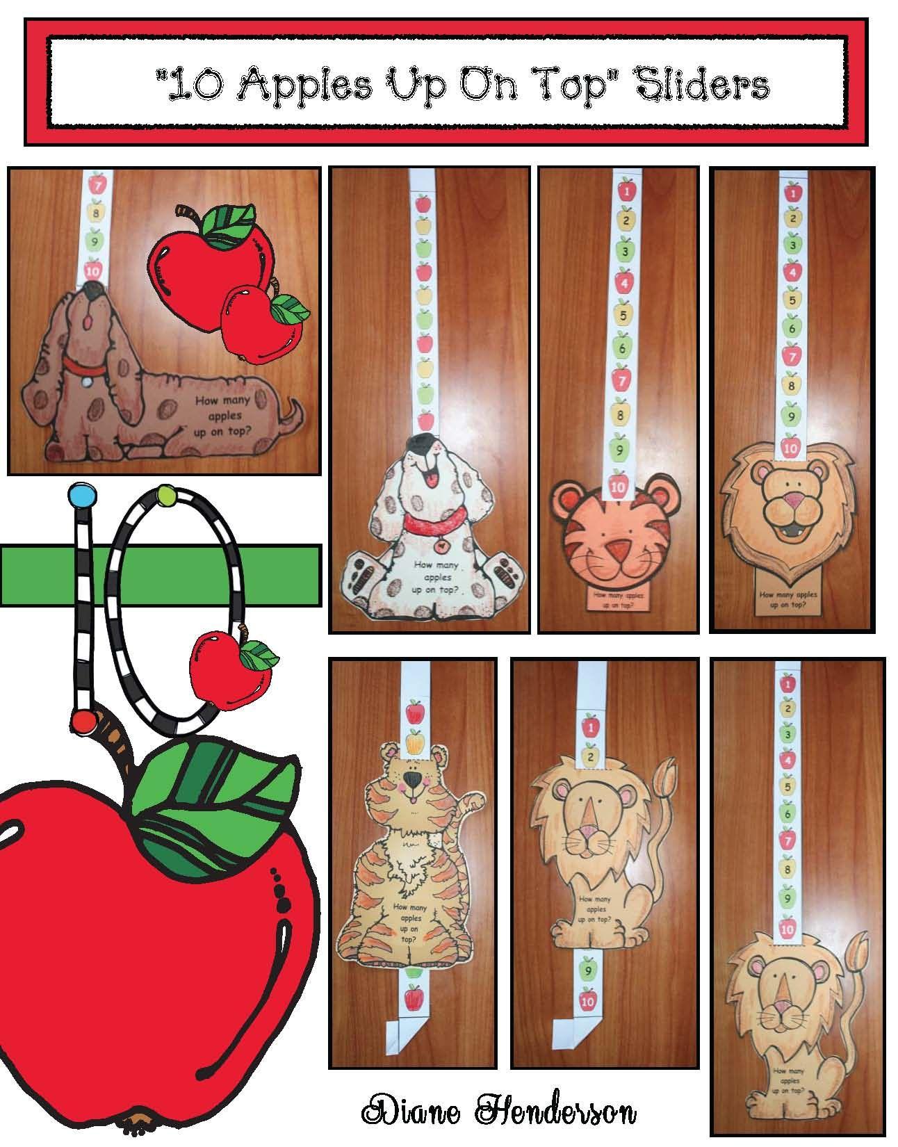 Seuss S 10 Apples Up On Top Craftivity