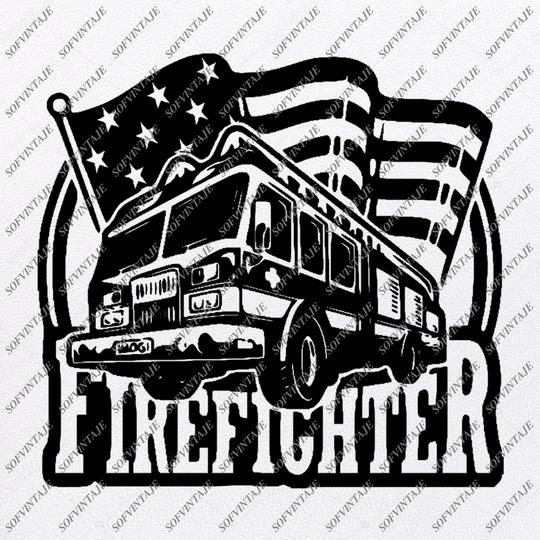 Download Firefighter-Love Firefighter Svg Files - USA Flag Svg ...