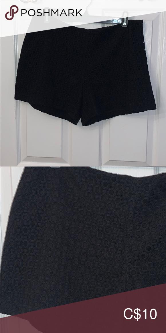 Banana Republic Black Shorts 10P