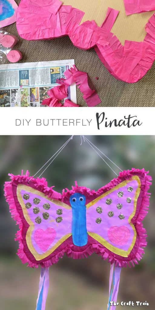 NEW Children   Animals Butterfly Pull Pinatas