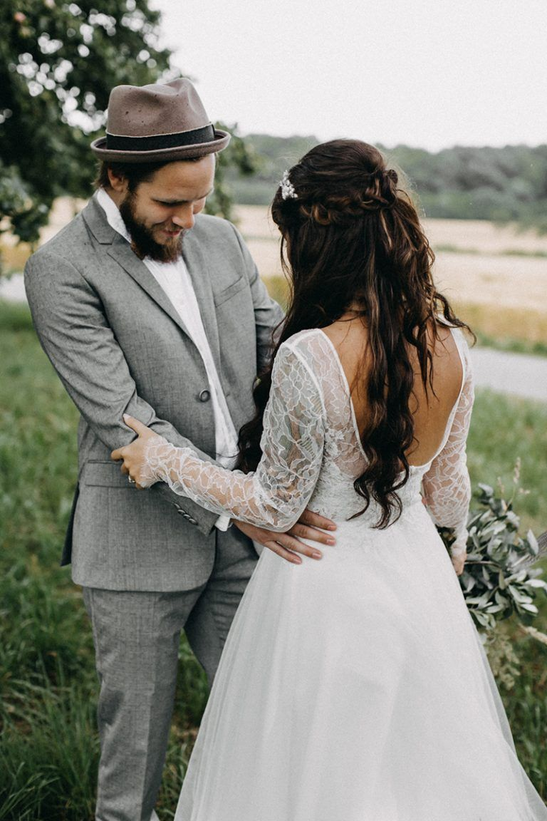 Detailverliebte Boho Hochzeit Bride And Groom Groom Wedding Bride