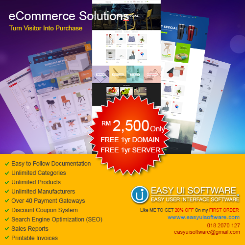 We Develop Your Online Store In Beautiful Design Start Your Trial Today Ecommerce Solutions Web Design Top Software