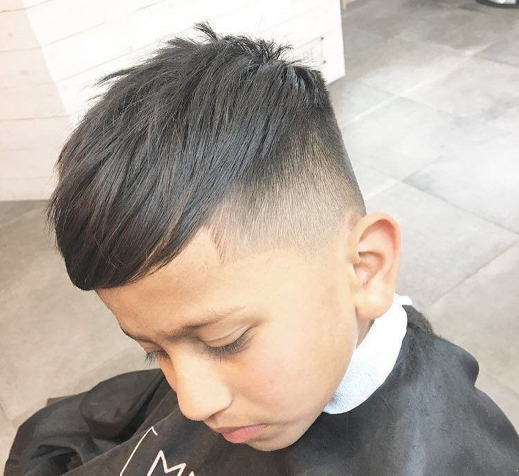 Cool Hairstyles For Boys long hairstyle with straight bangs boys hairstyle 31 Cool Hairstyles For Boys