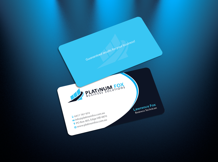 GUARANTEED PRIZE! EASY business card design using existing logo ...