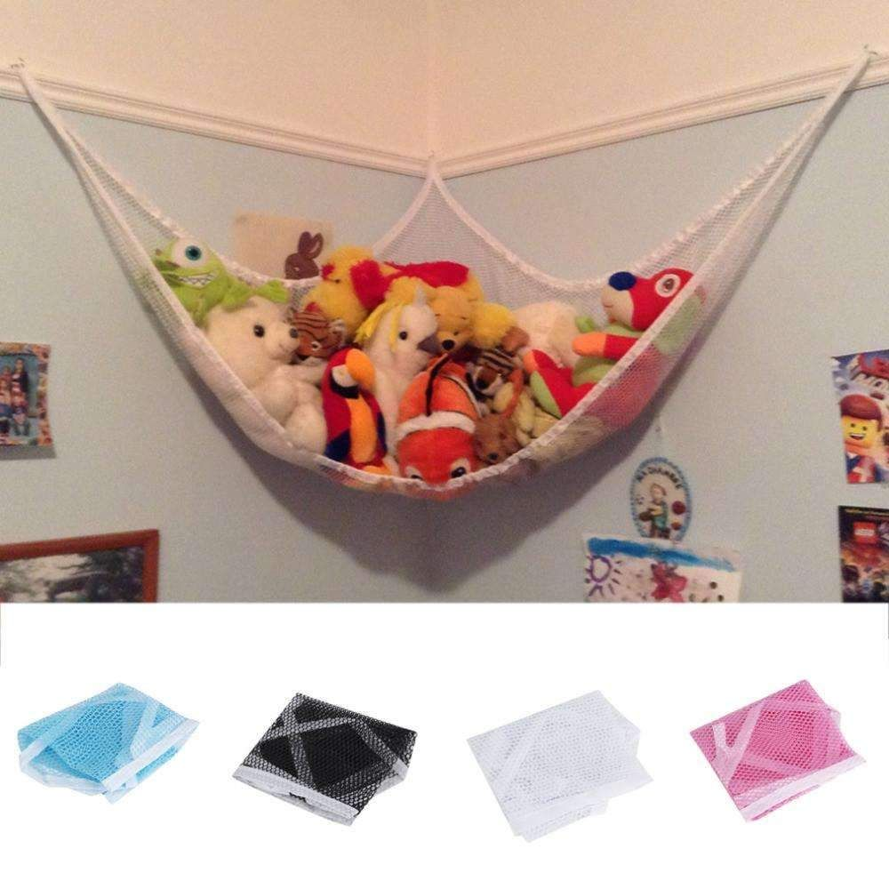 Baby Organize Stuffed Animals And Kids Bath Toys ONE Small Jumbo Toy Hammock Net