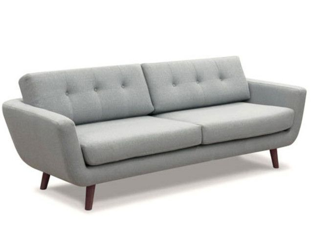 Massivum Retro Sofa Grau Woonkamer Huiskamer Oude Stoelen