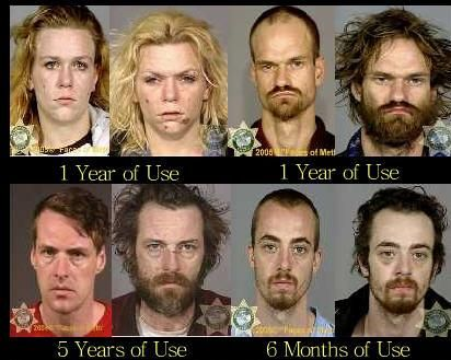 Meth People Before and After