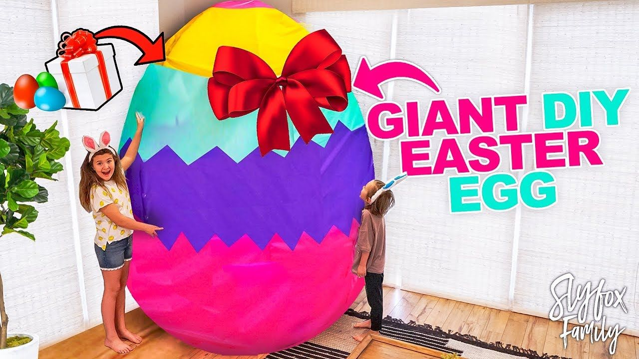 Family surprises kids with huge easter egg gifts easter egg hunt family surprises kids with huge easter egg gifts easter egg hunt negle Images