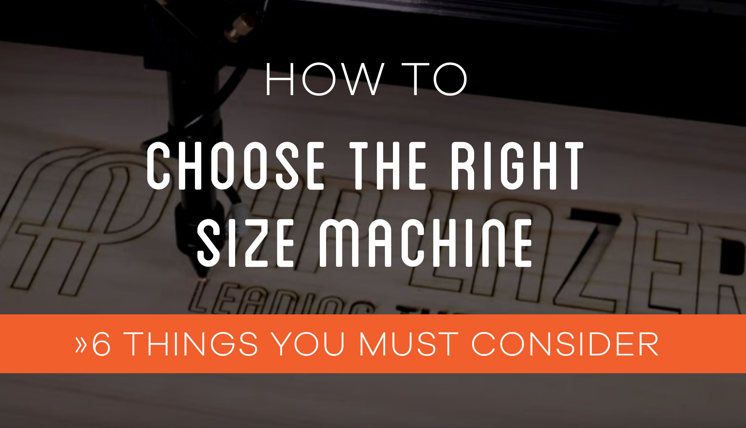 Choosing Your AP Lazer Machine What Size is Right for You