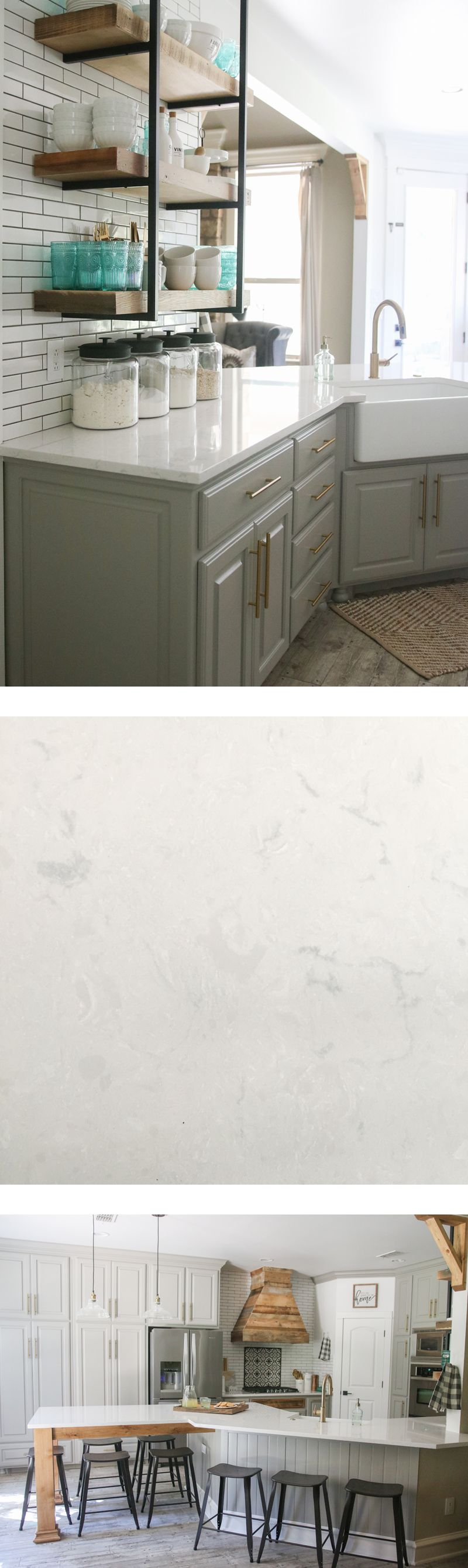 Cambria Quartz Countertops In Swanbridge... Looks Like Marble, But  Nonporous And Maintenance