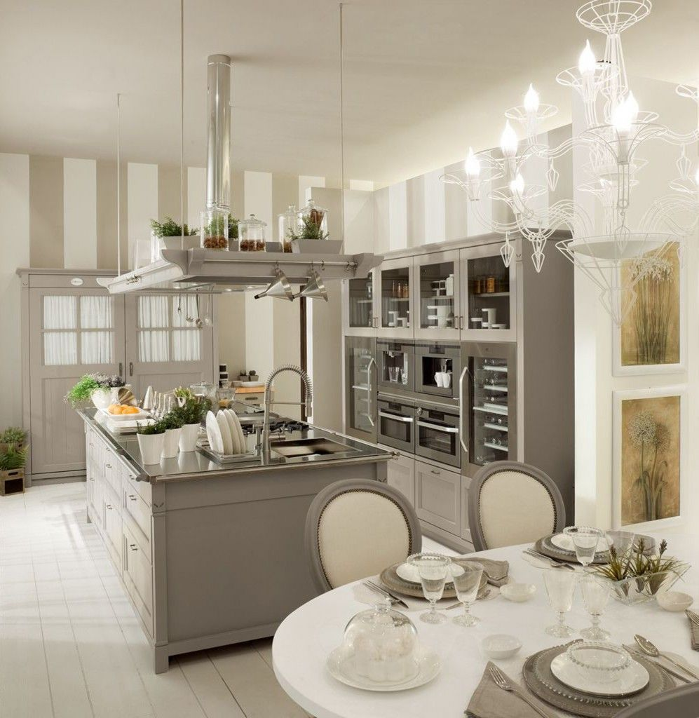 Cucine con isola | Interiors, Shabby and Kitchens