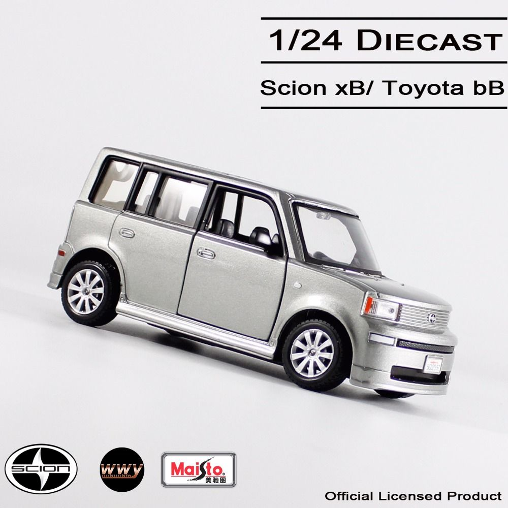 Maisto 1 24 diecast toyota bb scion xb car model alloy cars collectible