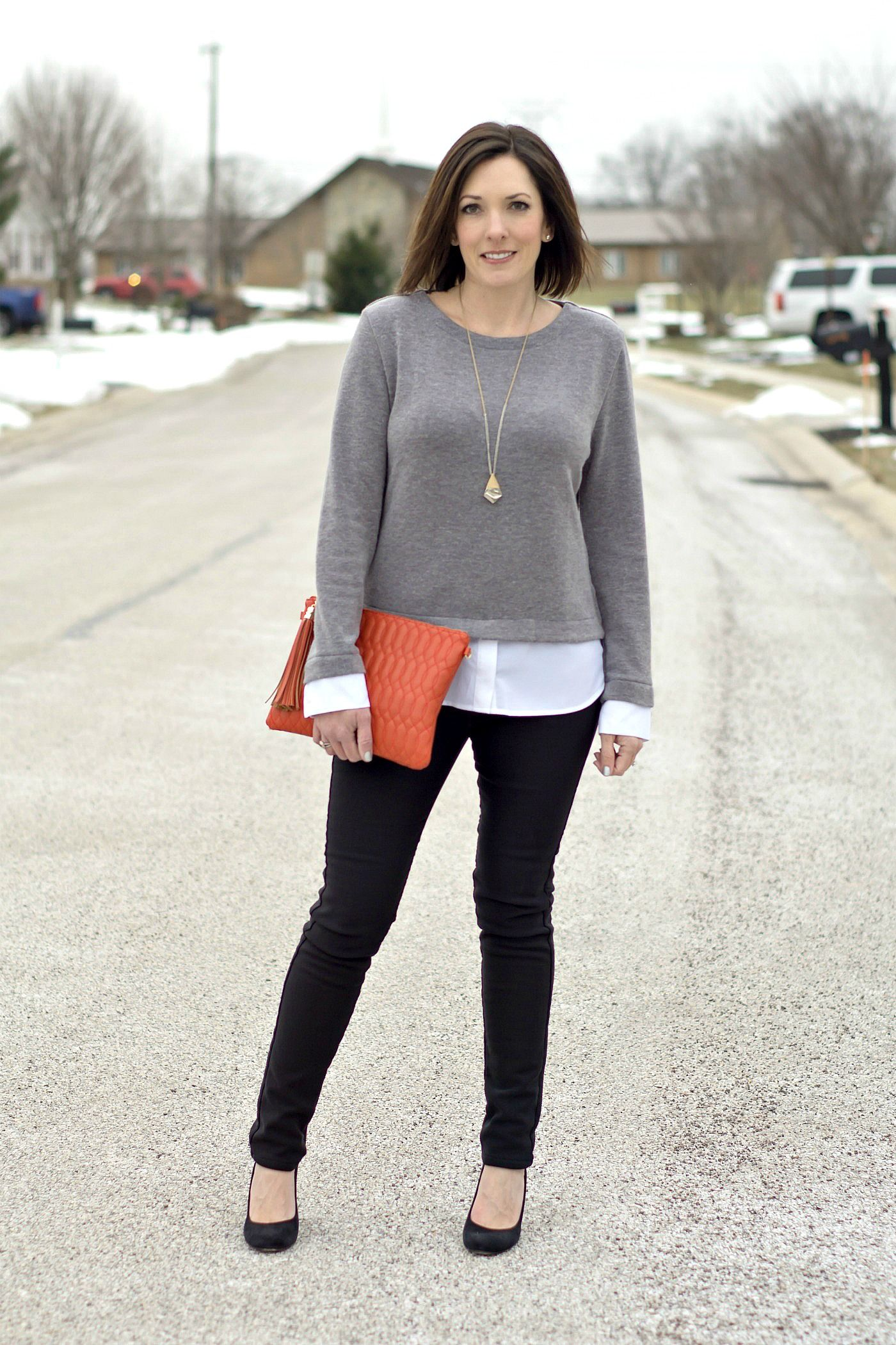 Winter Work Wear Outfit | Casual work outfits, Womens ...