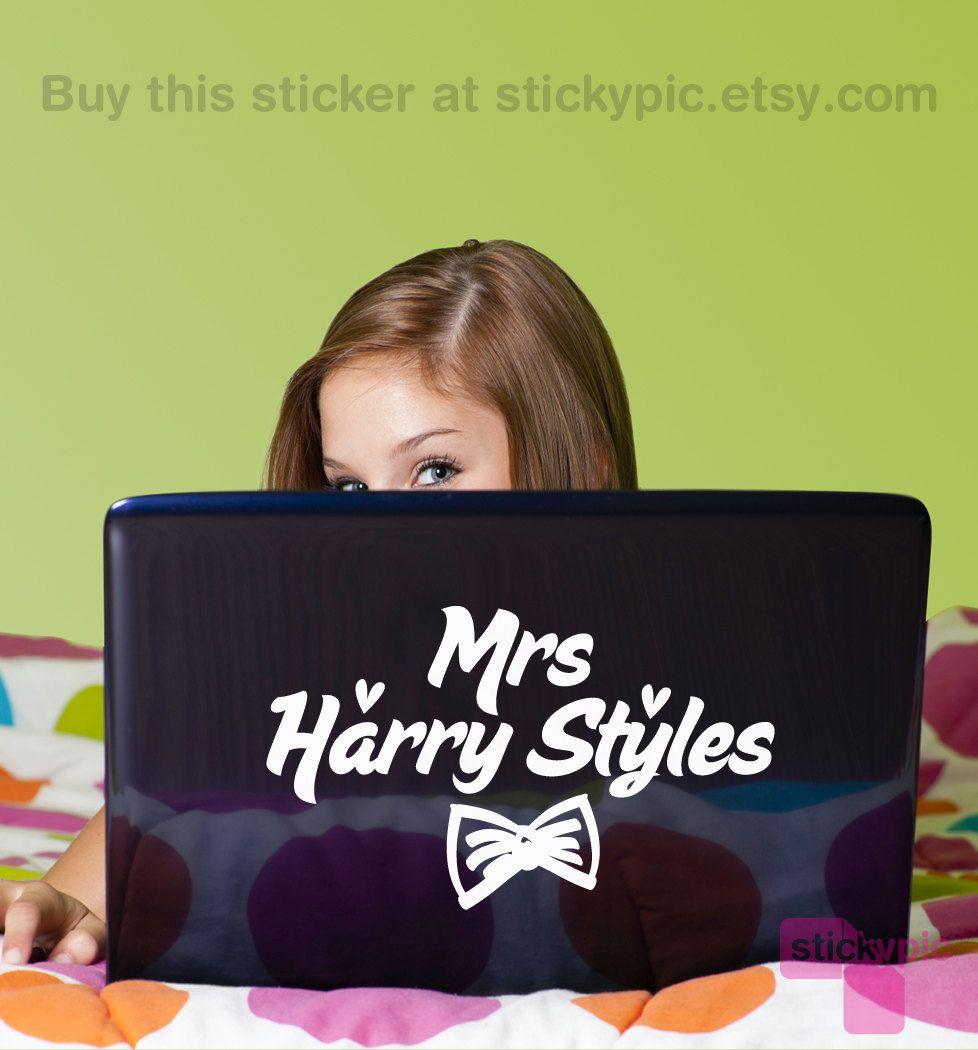 Mrs Harry Styles - One Direction - $12.99, via Etsy.