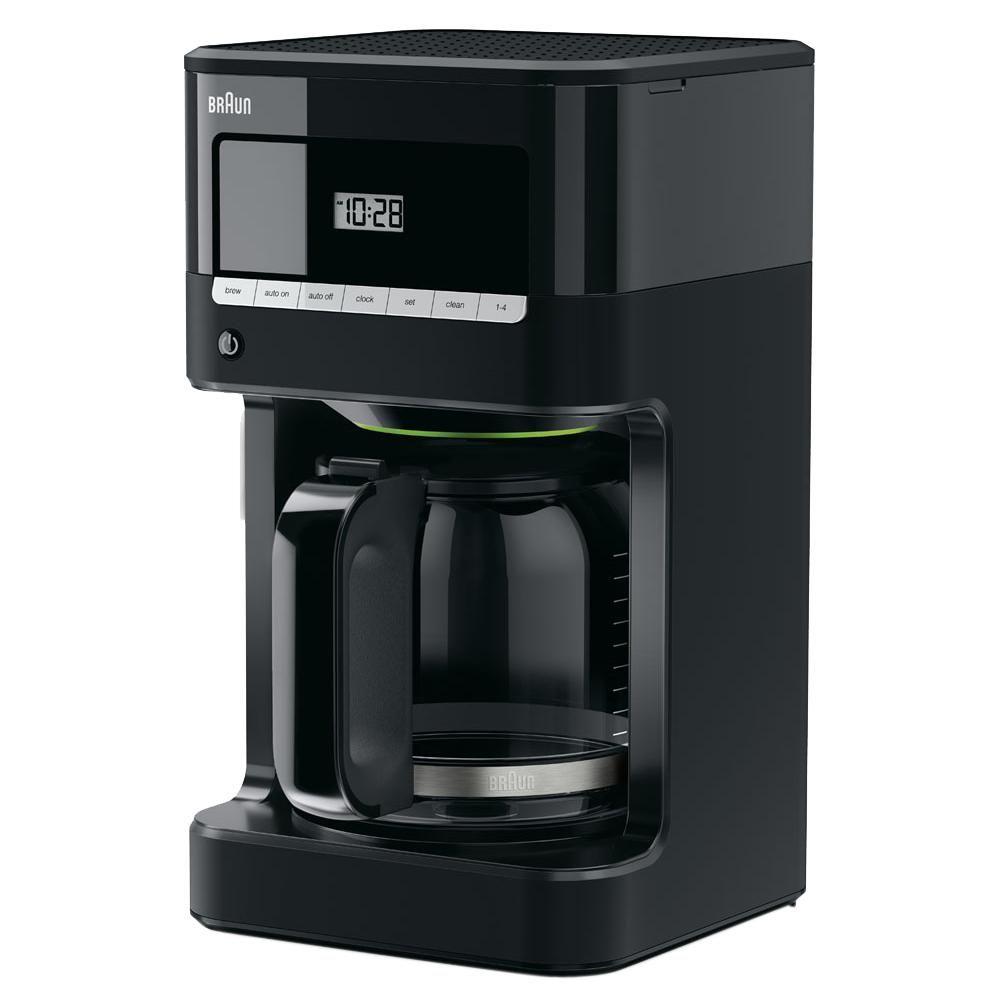 Braun kf7000bk brewsense 12cup programmable black drip