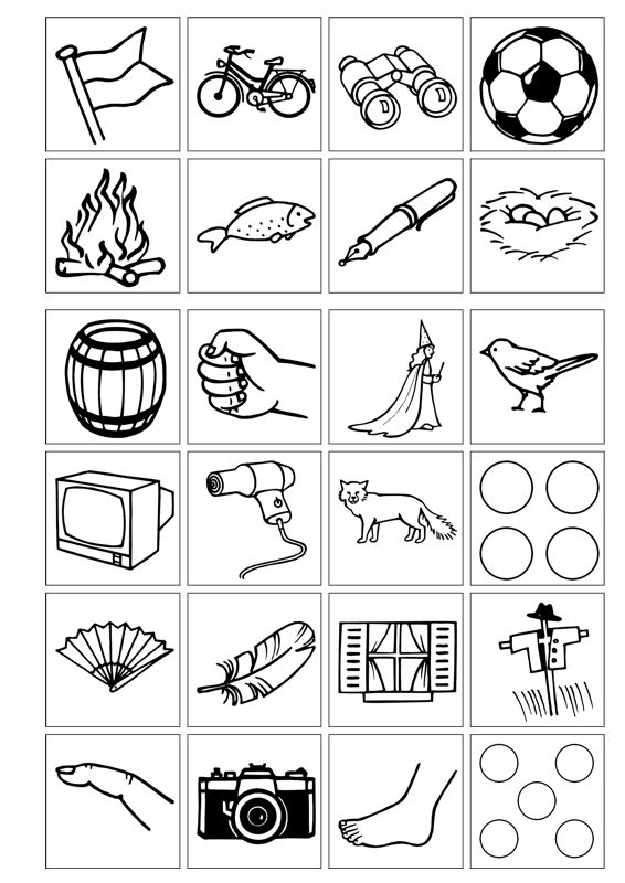 Bildkarten mit F im Anlaut - Dyslalie | Pinterest | Kindergarten ...