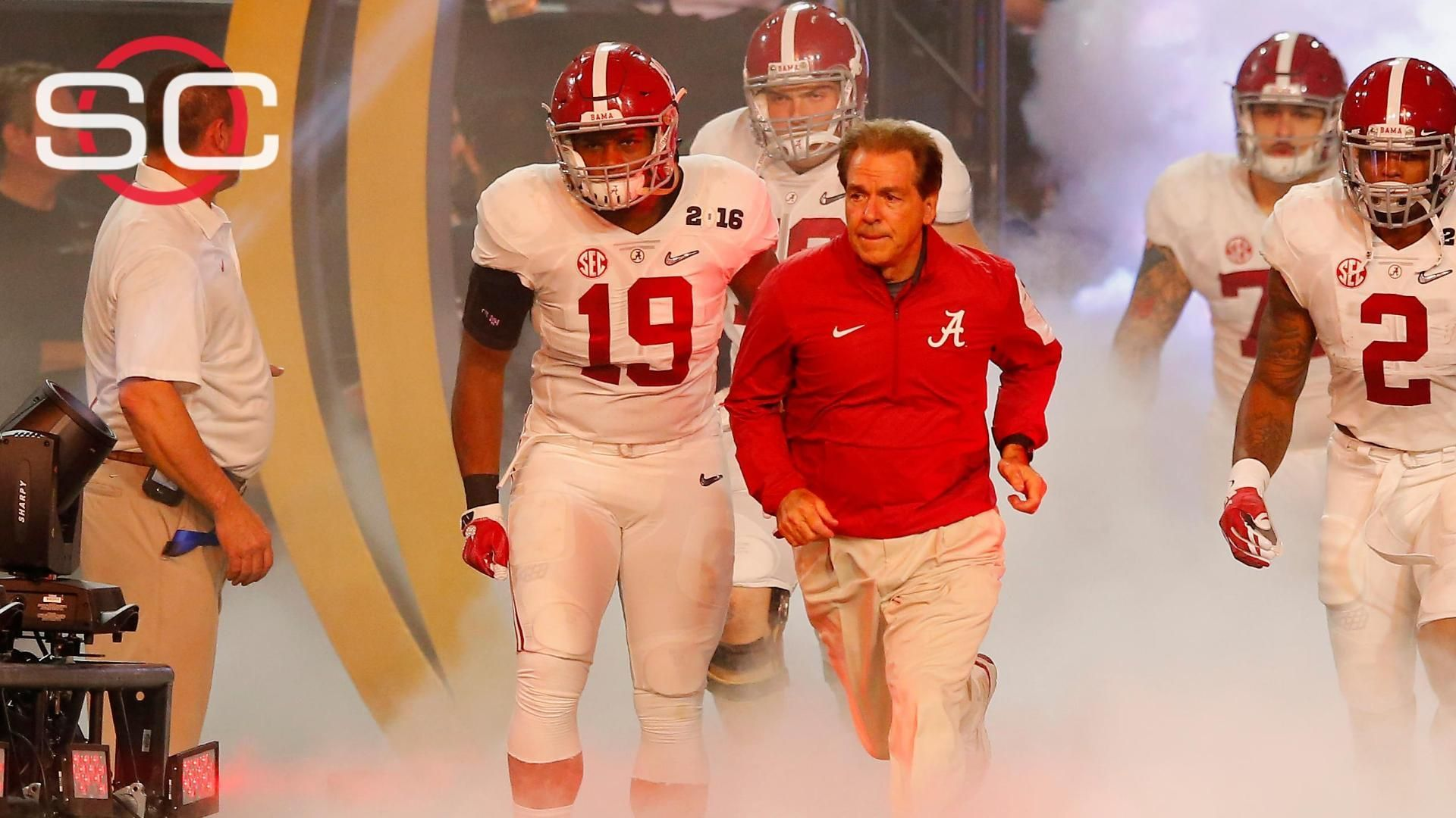 Alabama Rolls On Espn Video Nick Saban Crimson Tide Football Bama Football