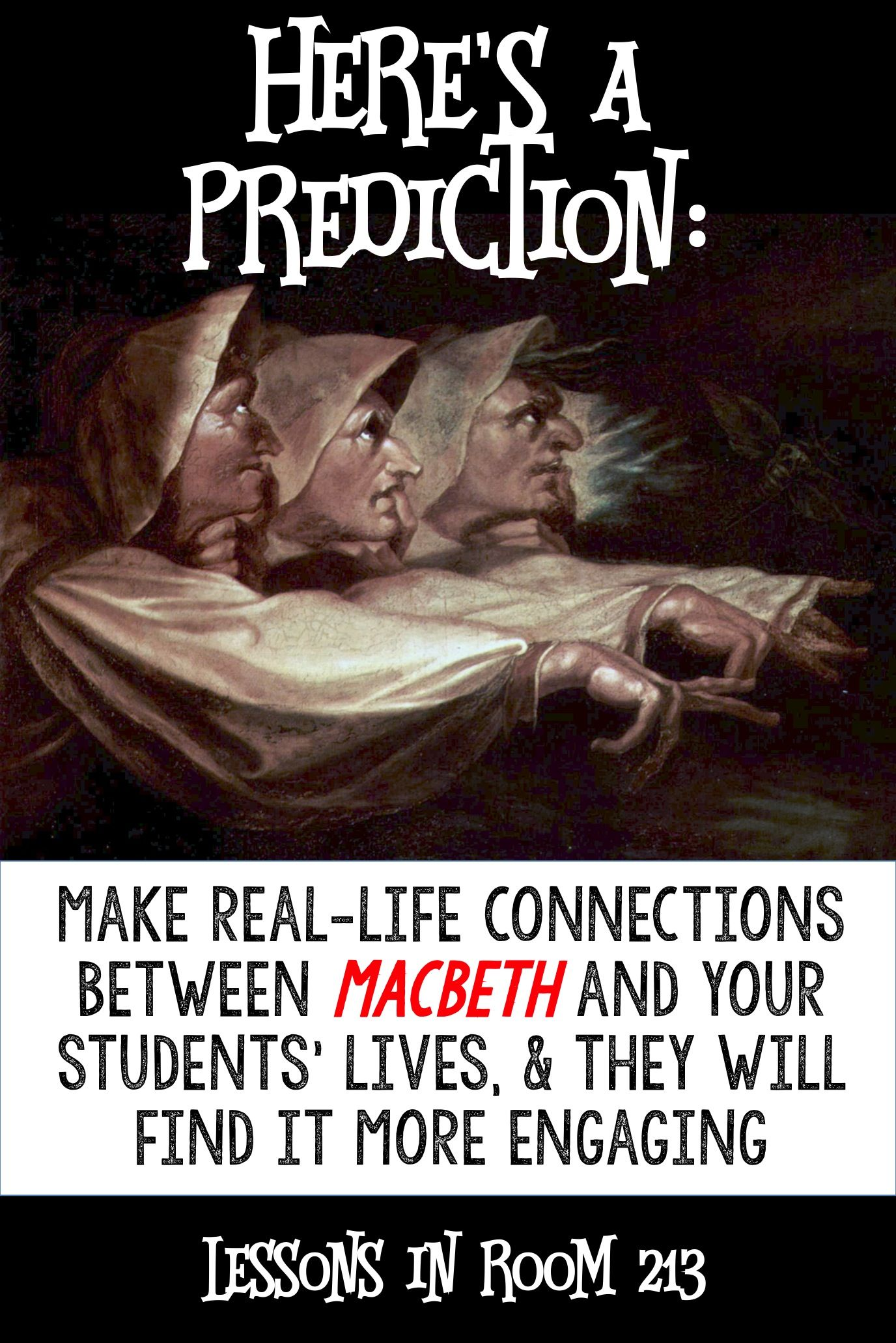 Macbeth activities assignments that make it real students macbeth lessons use an inquiry approach to show students how macbeth is relevant to their buycottarizona
