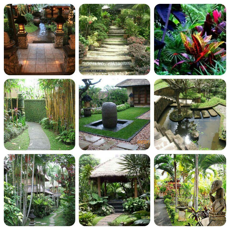 Balinese gardens panta rei uncategorized pinterest for Balinese garden design