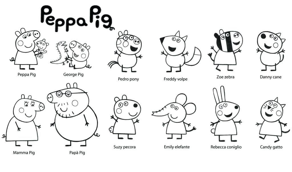 Peppa Pig Coloring Pages Pig Coloring Pages Pig Coloring Pages Coloring Pages Pig Party Peppa Pig Col Peppa Wutz Weihnachten Peppa Pig Familie Wenn Du Mal Buch