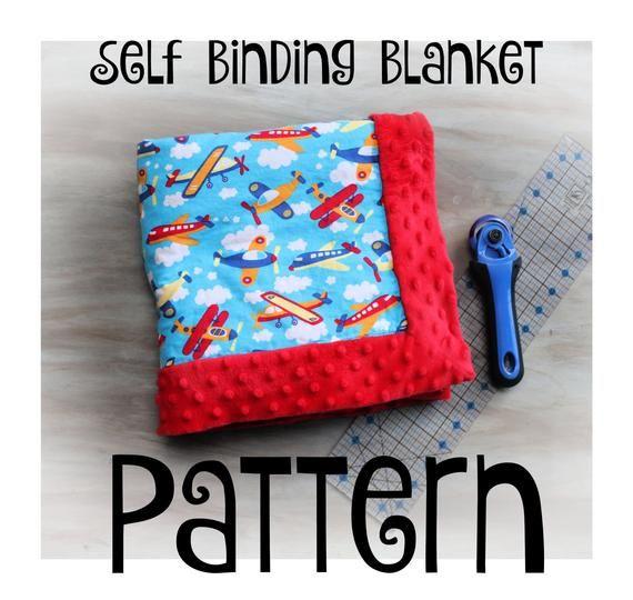 Self Binding Blanket Tutorial -NSTANT DOWNLOAD