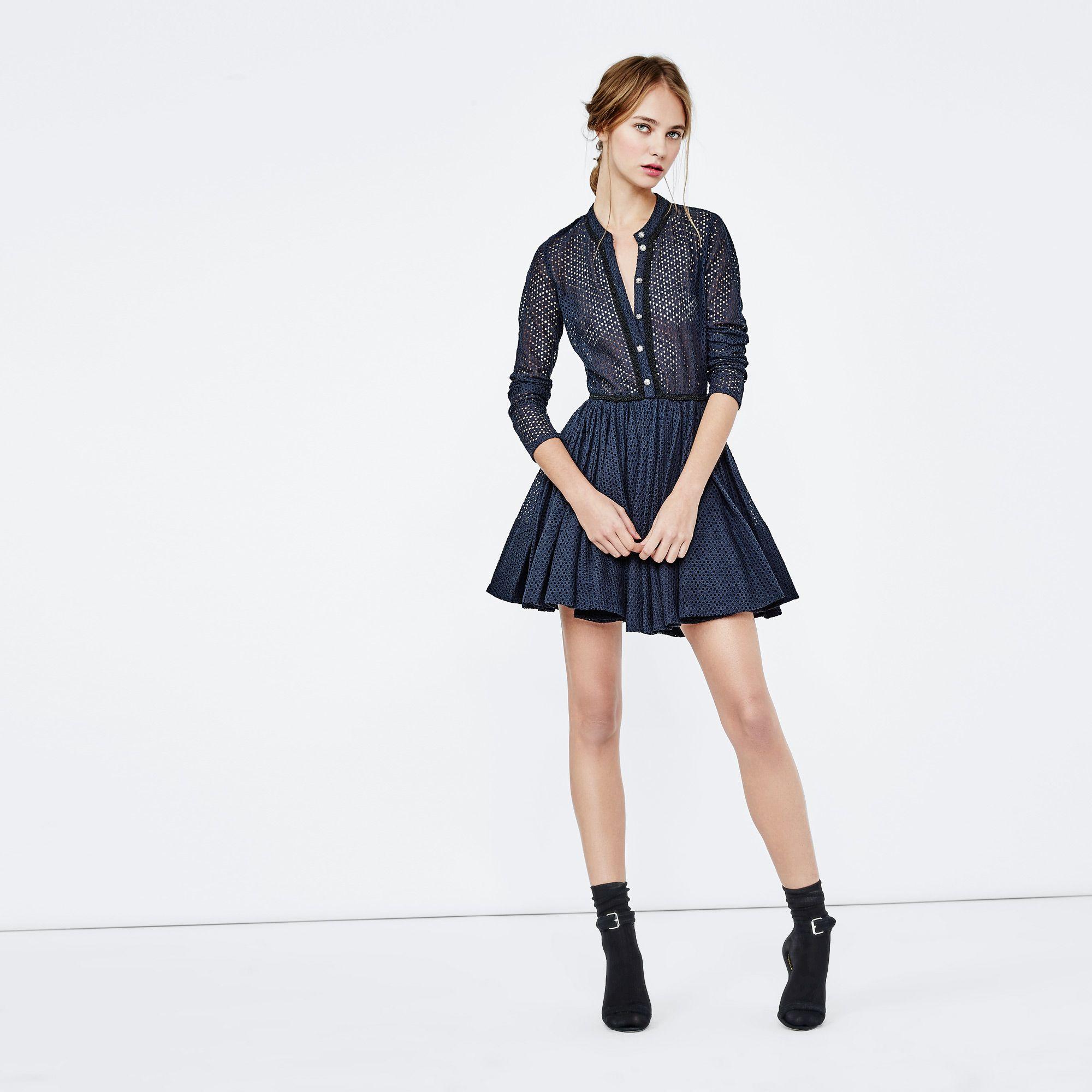 robe maje blanche oversize