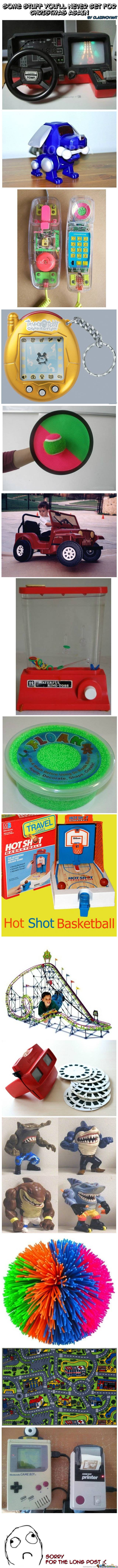 I wish I could still play with some of these toys...