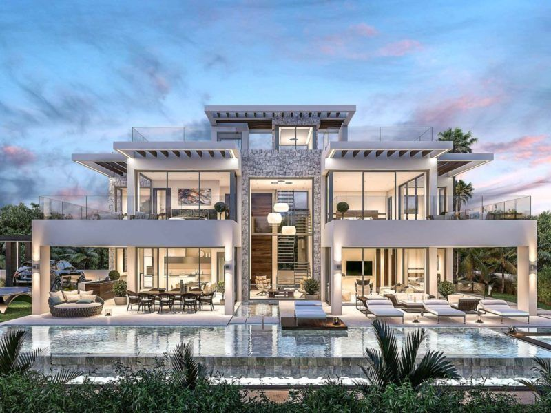 Modern Villas Luxury Homes In Marbella Madrid Portfolio Luxury Homes Dream Houses Luxury Homes Exterior Luxury House Plans