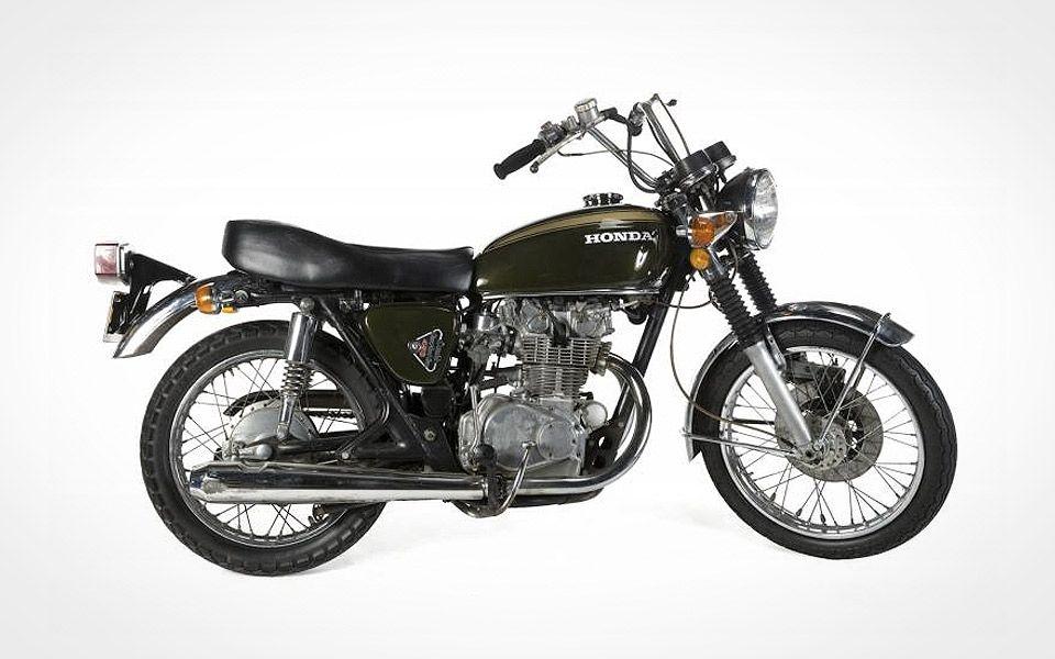 Steve McQueens Honda motorcykel er til salg