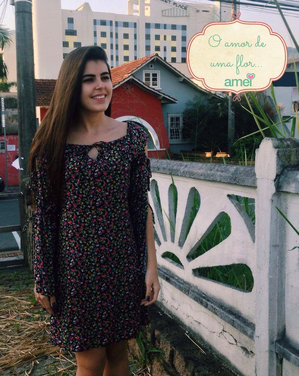 🌿💕🍃 #vestido #flores #lojaamei #muitoamor #jardimamei
