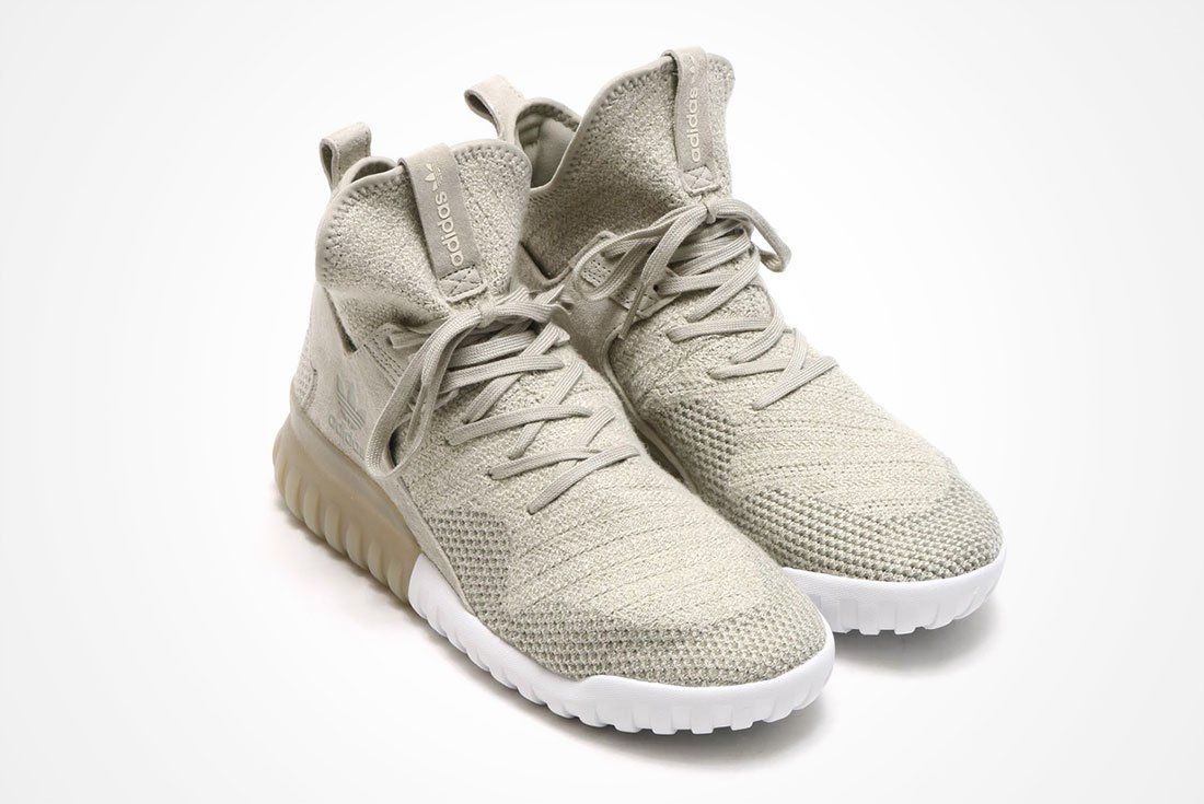 adidas Tubular X Primeknit (Sesame Clear Brown) – Sneaker Freaker ... fc66a768d