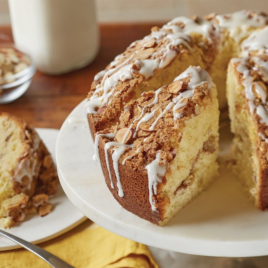 Coffee Cake 4 Eggs